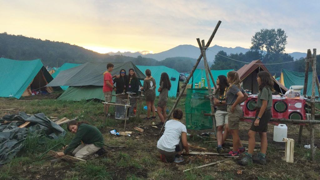 Reparto scout buccinasco for Idee per gara di cucina scout